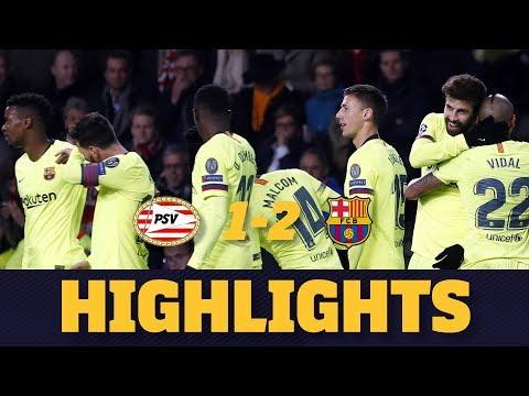 PSV 1-2 BARÇA   Match highlights thumbnail
