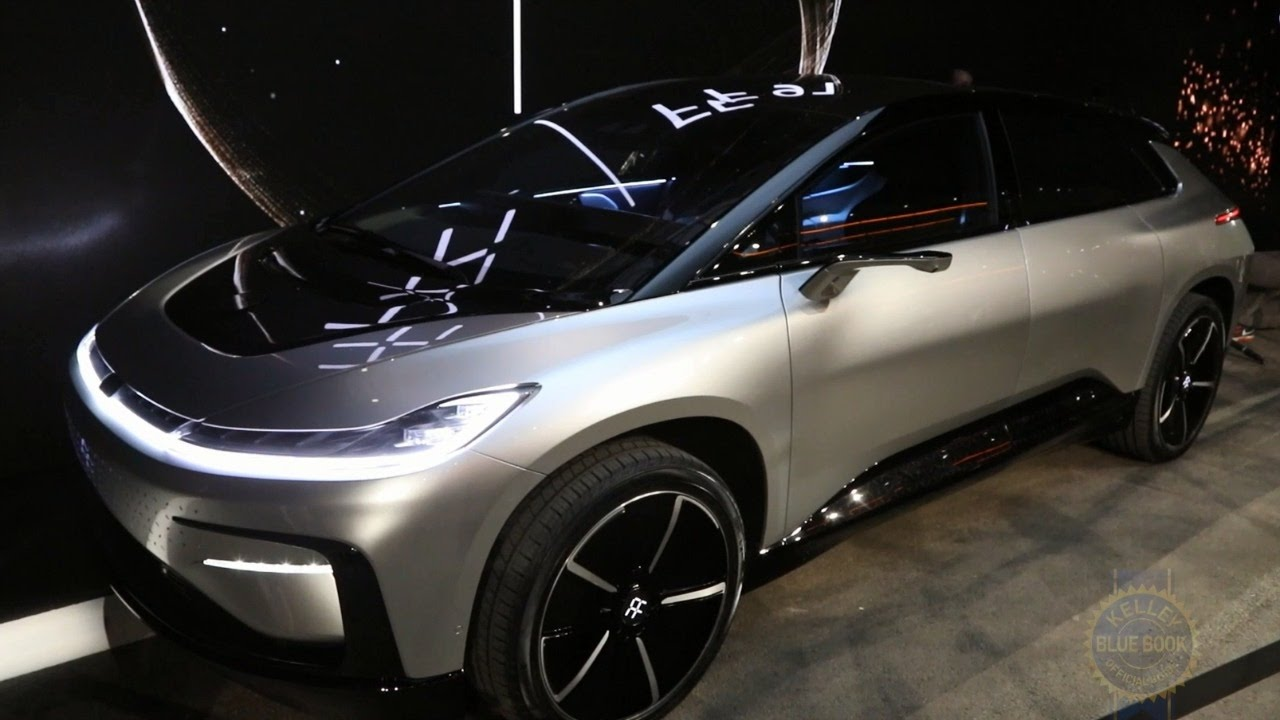 faraday future ff 91 ces 2017 youtube. Black Bedroom Furniture Sets. Home Design Ideas