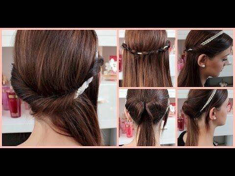 5 Minuten Haarband Frisuren Einfache Und Schnelle Haartutorials