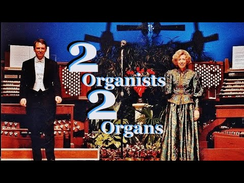 Toccata & Fugue in d minor for Two Organists BWV 565 - Diane Bish