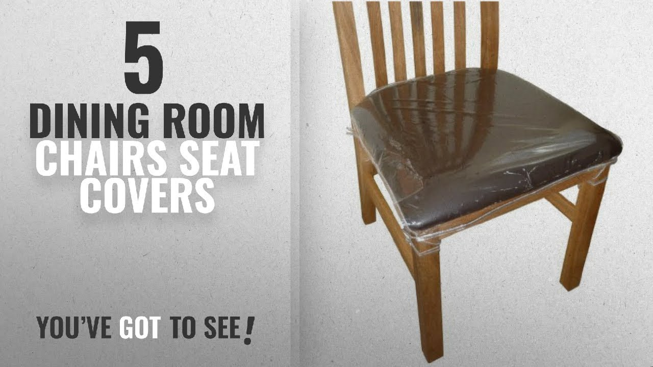 top 10 dining room chairs seat covers 2018 4 x clear. Black Bedroom Furniture Sets. Home Design Ideas