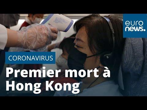 Un premier mort du coronavirus à Hong Kong