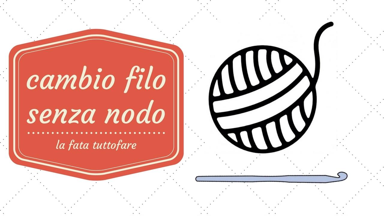 Tutorial il cambio filo senza nodo viyoutube for Nodo invisibile per unire due fili di lana