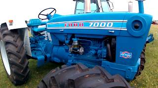 1973 Ford 7000 Load Monitor 4WD 4.2 Litre 4-Cyl Diesel Tractor ( 94HP)