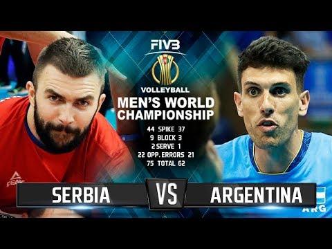 Serbia vs. Argentina | Highlights | Mens World Championship 2018