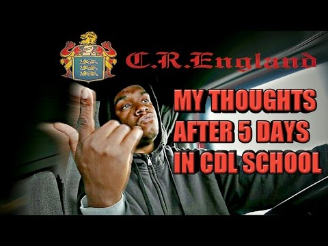 C.R.ENGLAND - MY THOUGHTS AFTER 5 DAYS IN CDL SCHOOL