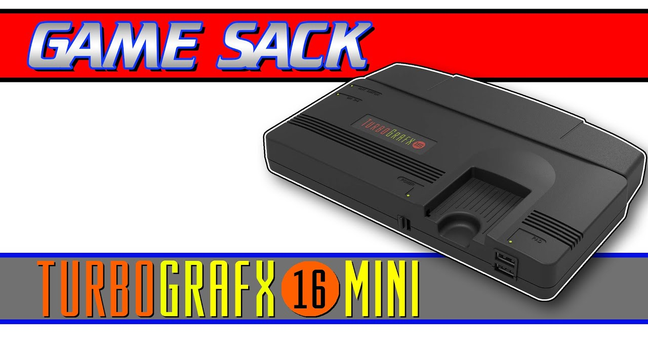 The TurboGrafx-16 Mini – REVIEW – Game Sack