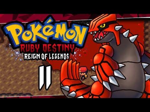 Pokemon Ruby Destiny Reign Of Legends Part 11 KANTO! Pokemon Rom Hack Gameplay Walkthrough