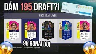 PŘEKONÁVÁM SVĚTOVÝ REKORD?! ???? 190+ DRAFT *98 RONALDO* | FIFA18 CZ/SK