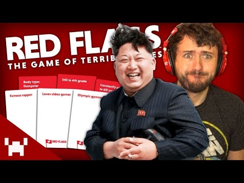DATING KIM JONG UN! (Red Flags Card Game w/ Ze, Chilled, GaL