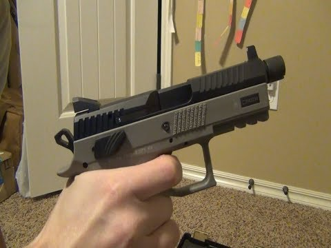 CZ P-07 [Urban Grey Suppressor Ready] (Field Strip & Lookaround)