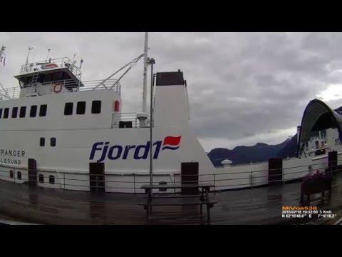 Ferry instead of bridge - Norway