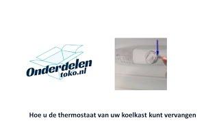 thermostaat vervangen koelkast