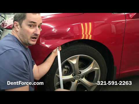 Paintless Dent Repair in Sherwood OR