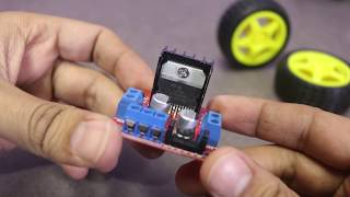How to control DC motor with L298N driver and Arduino