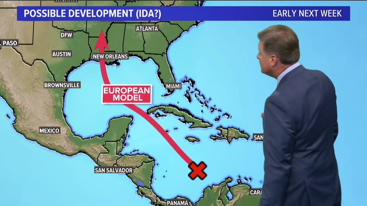 Tropical system could make landfall in the Gulf Coast as a hurricane ...