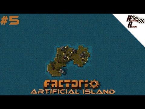 """Building the WALL"" Factorio - Artificial island series #5"