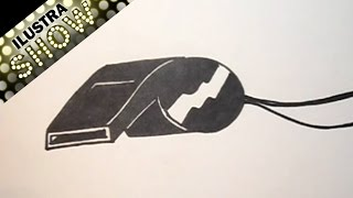 Dibujar Un Silbato Tutorial ILUSTRA SHOW