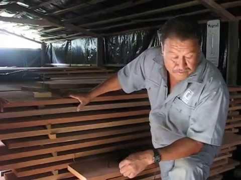 Proyecto de investigación - Pisos de madera tropical. Secado, parte 1/2.