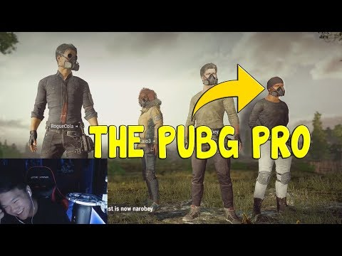 THE GREATEST PUBG PLAYER ALIVE-PUBG FUNNY MOMENTS/FAILS