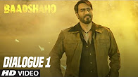Woh Army Thi Par Hum Bhi Toh Harami The - Releasing 1 September - Baadshaho (Dialogue Promo 1)