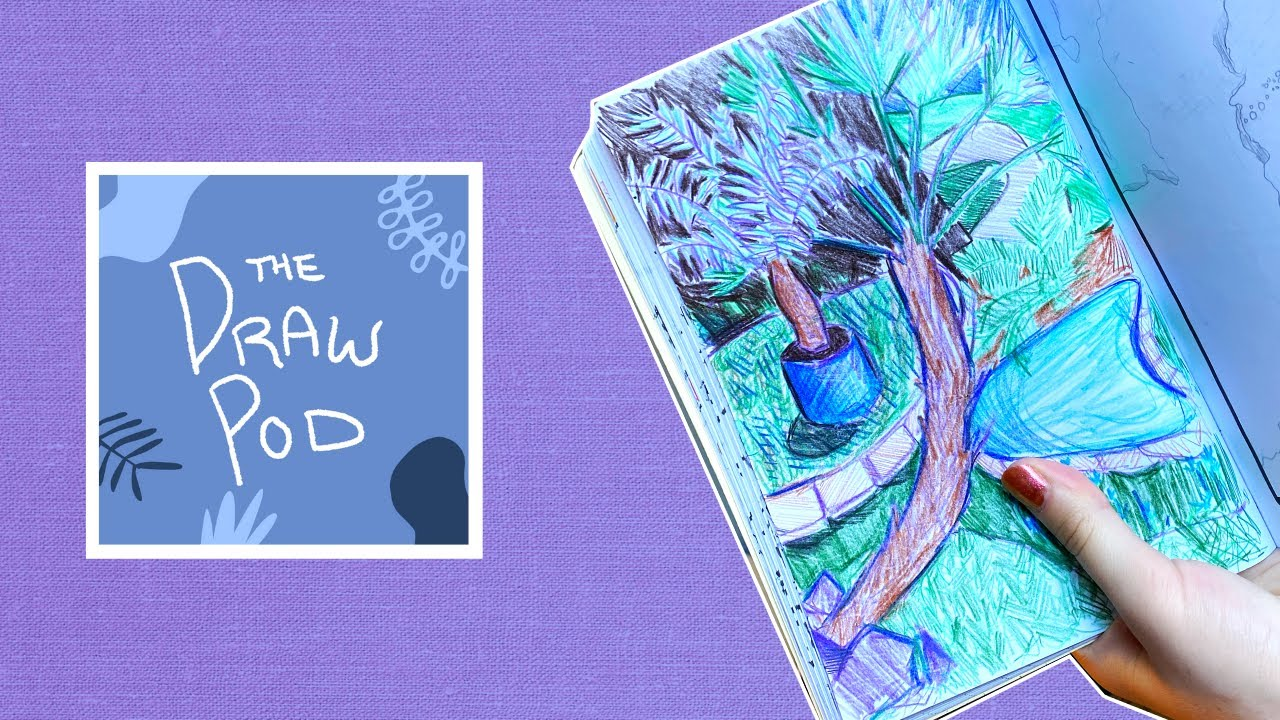 Draw Pod | Staying BUSY post-grad! What I do, how I do it, how I keep up with everything
