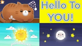 Hello Song for Kids (FAST) - Hello to YOU! by ELF Learning