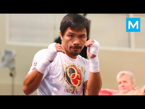 Manny Pacquiao Training for Jessie Vargas (FULL) | Muscle Madness