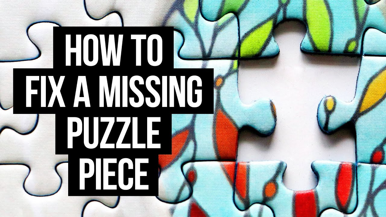 How to Make a Replacement Jigsaw Puzzle Piece