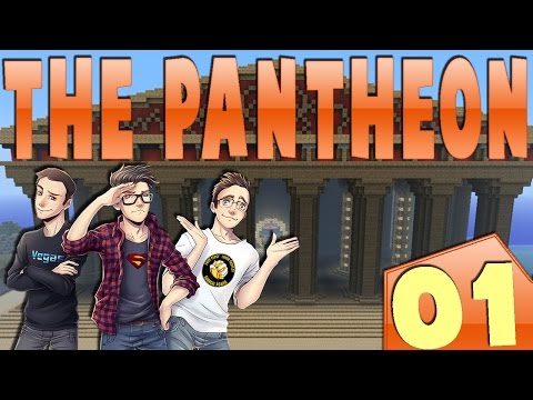 MINECRAFT : THE PANTHEON - UN NUOVO INIZIO!! w/SurrealPower & Vegas #1