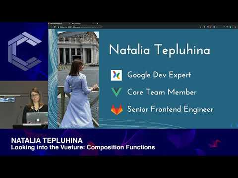 Natalia Tepluhina | Vue 3 | Looking into the Vueture: Composition Functions | ComponentsConf 2019 thumbnail