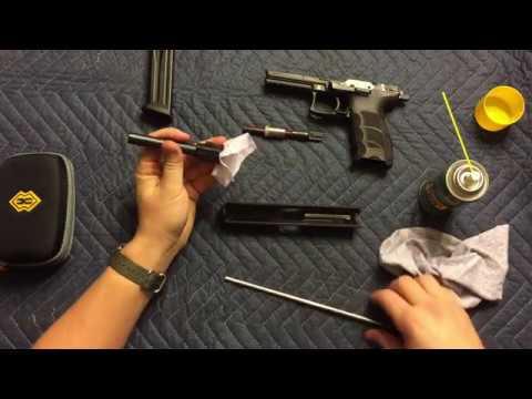 How To Clean An HK P30L - Break Down An HK 9mm Handgun