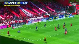 Gol de P. Barrientos | Toluca 1 - 0 Veracruz | LIGA Bancomer MX - Clausura 2019 - Jornada 9