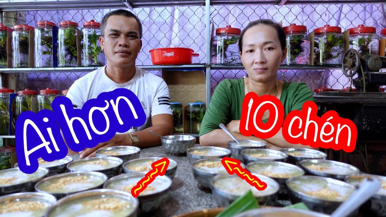 Thánh Ăn Thịt Mỡ Giao Đấu Bà La Sát Ăn 10 Chén Chè   Son Duoc Vlogs