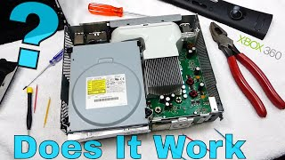 DOES IT WORK?!? Taking apart an XBOX 360 ELITE   Fix it with SPEEDY!