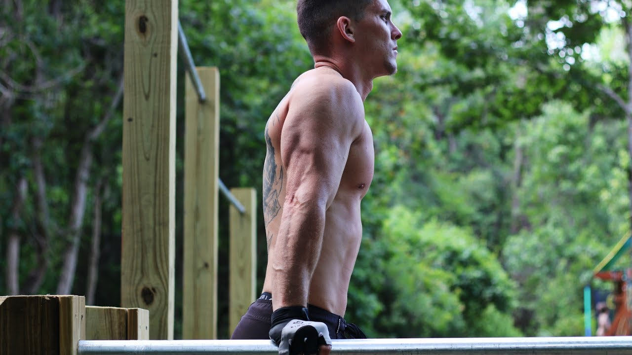 The 200 workout! 50 pull-ups, 50 Dips, 50 body squats,50 push-ups