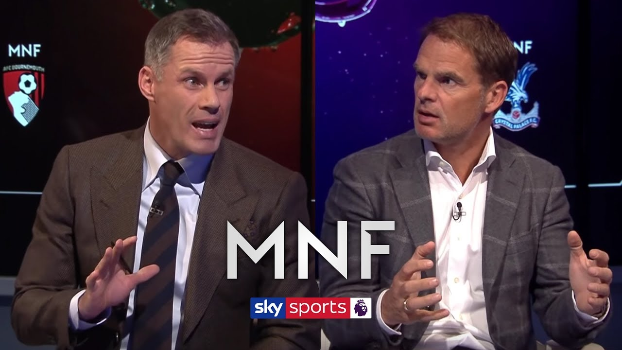 "Jamie Carragher & Frank de Boer on Man United's ""disgraceful"" start to the season 