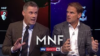 Jamie Carragher & Frank de Boer on Man United's