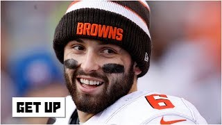 Baker Mayfield shouldn't trash talk Daniel Jones – Marcus Spears | Get Up