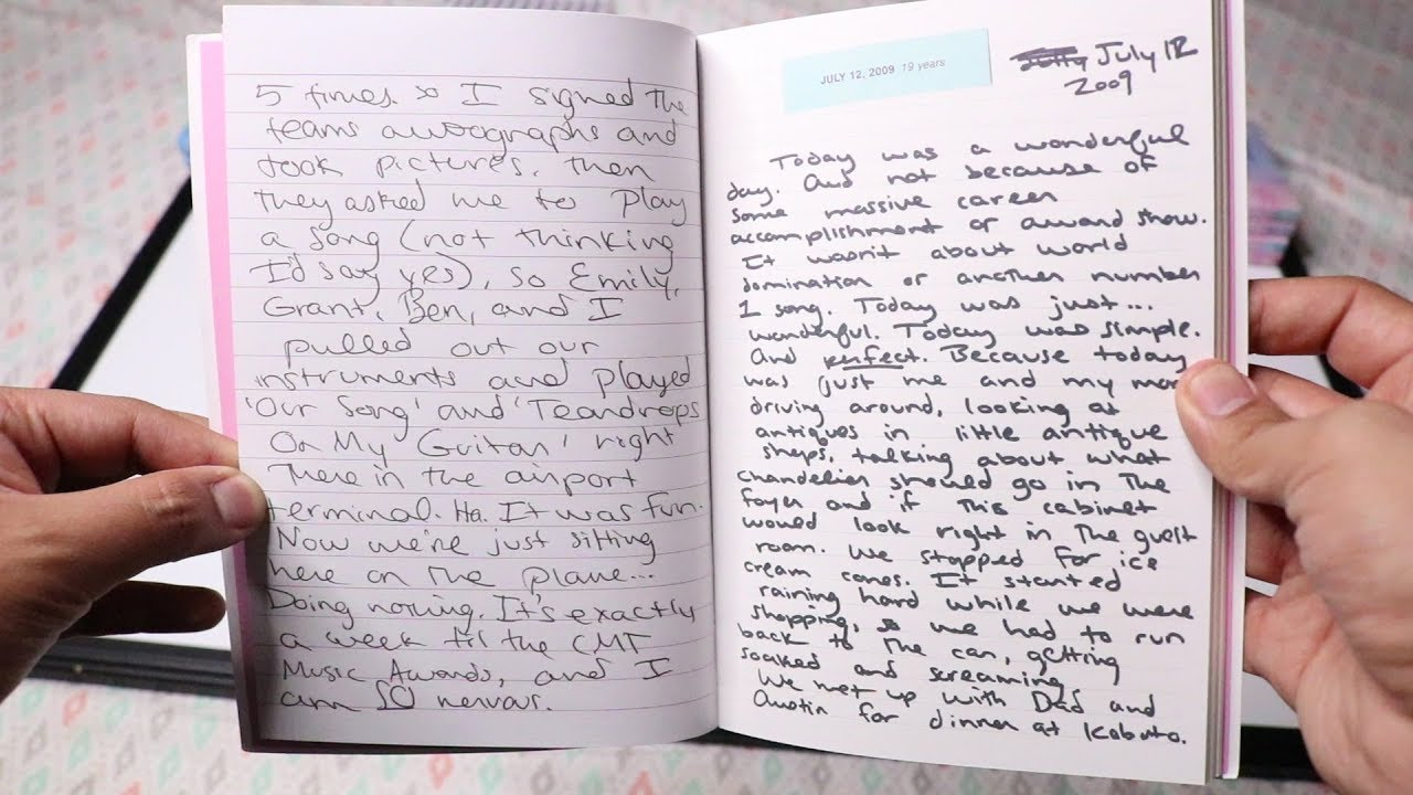 Taylor Swift - Lover - Deluxe Versions 1-4 Unboxing - Journal Entries