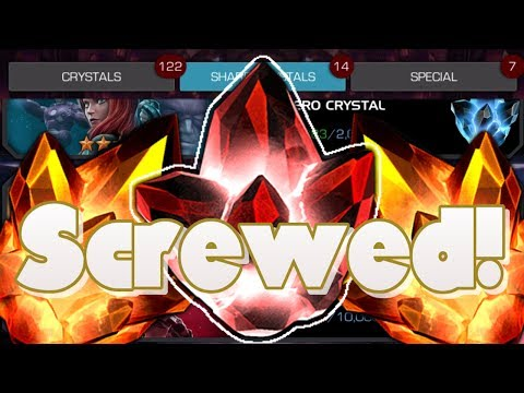 SCREWED! Four Star and Five Star Crystal Opening [Marvel Contest of Champions]