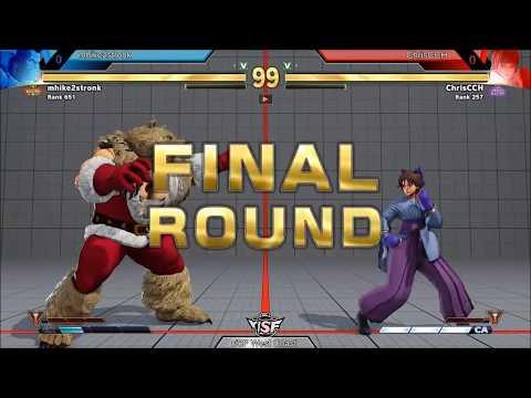 GrandFinals mhike2stronk (Zangief) vs ChrisCCH (Sakura, Guile)