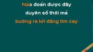 Không Một Lần Hối Hận Karaoke - Thái Phong Vũ - CaoCuongPro