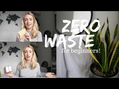 ZERO WASTE BEGINNER: My Easy Eco Friendly Swaps