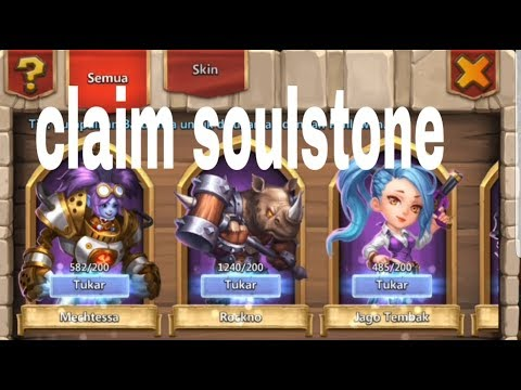 Claim 35 Hero From Soulstone  CASTLE CLASH #187