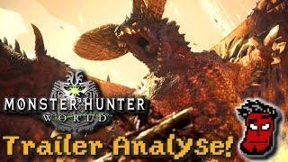 Monster Hunter World: Trailer Analyse, 3. Beta, PC-Version Release News | Gameplay [German Deutsch]