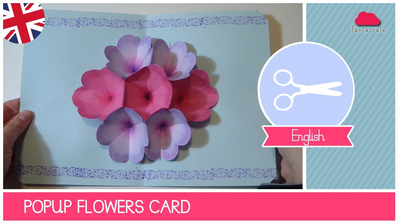 Mothers day greeting card with pop up flowers diy ideas by its youtube uninterrupted m4hsunfo