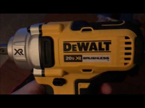 Dewalt DCF894 Unboxing