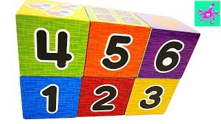 Counting from One to Ten | Learn to Count with Number Blocks