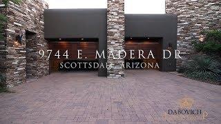 luxury home tour 9744 e madera dr scottsdale arizona